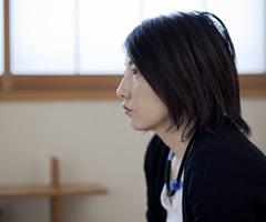 インタビュー風景:牧野昌美