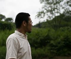 熊谷幸治/インタビュー風景