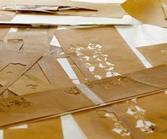型紙:工房風景