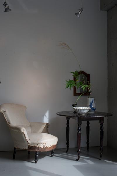 DEE'S HALL イメージ画像:2014.11.5~8宮脇誠&江口宜舟「ヨーロッパの古道具と花」会場風景