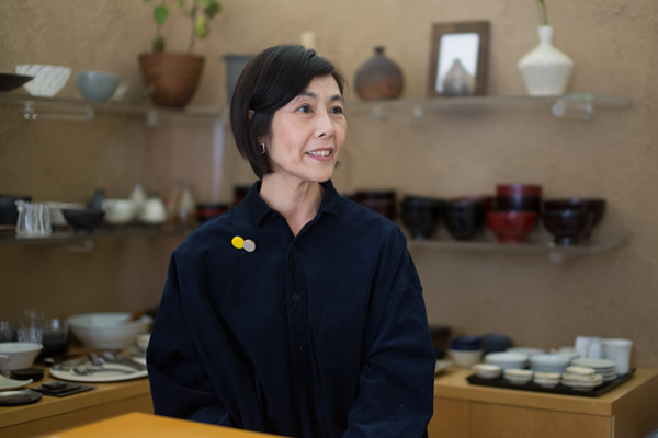 インタビューイメージ画像:うつわ楓 島田 洋子
