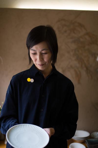 インタビューイメージ画像:砂田政美さんのしのぎ7寸皿