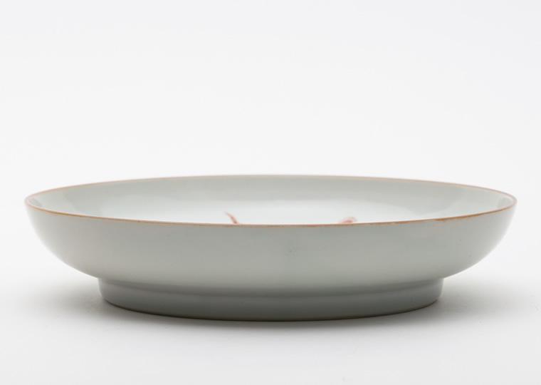 浜野マユミ「色絵虎紋七寸平鉢」