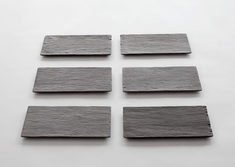 羽生野亜「小皿 (18x9)」