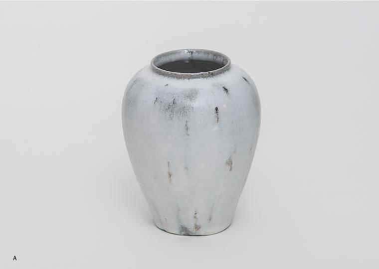 長谷川奈津「林檎灰釉花器」