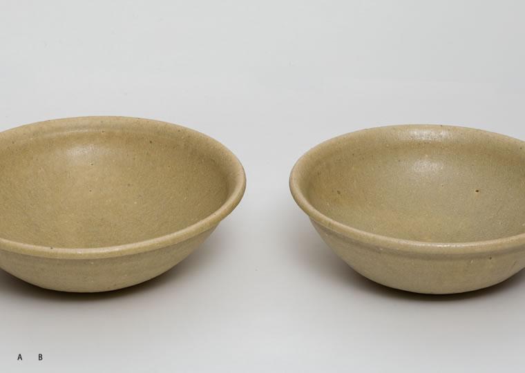 長谷川奈津「松灰釉鉢」