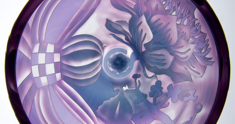 木越あい「山ゴボウ/紫」