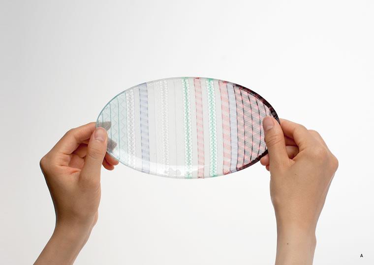 小西 潮「楕円皿」
