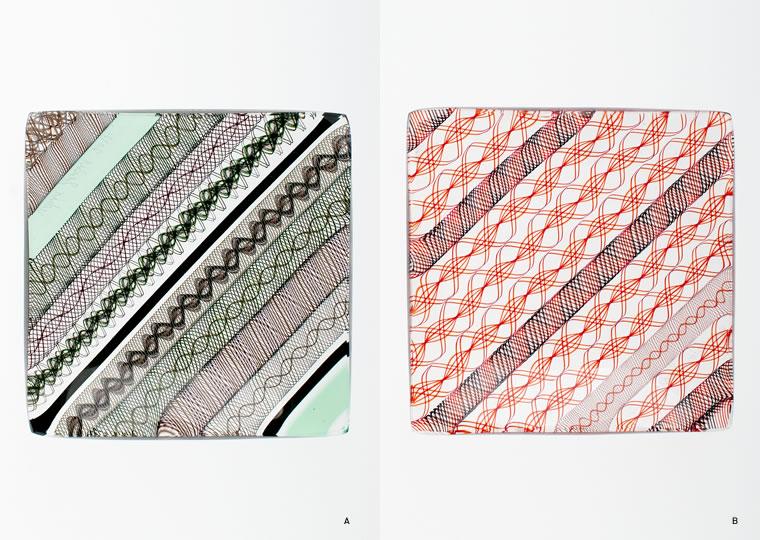 小西 潮「角小皿(8x8)」
