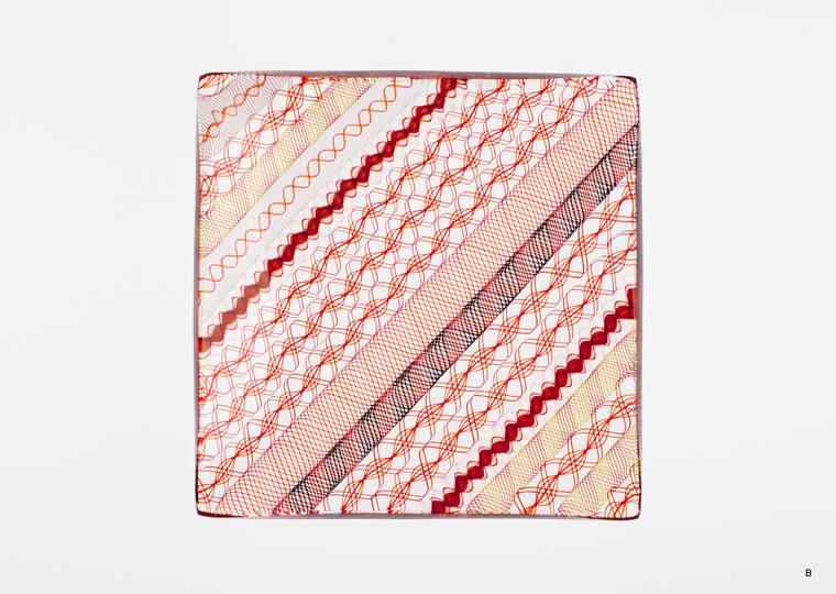 小西 潮「角皿(11x11)」