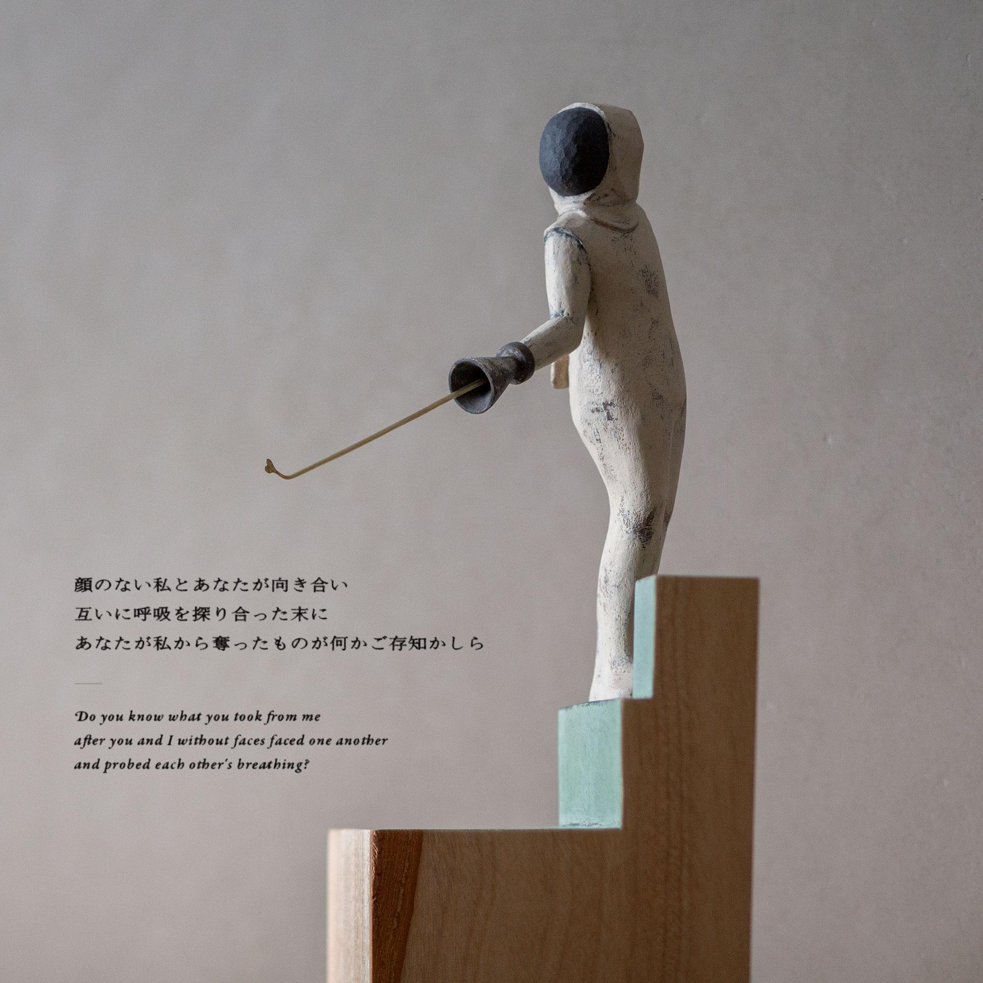"""Yuta NISHIURA """"Colours"""" #05 May 2020 「顔のない私とあなたが向き合い 互いに呼吸を探り合った末に あなたが私から奪ったものが何かご存知かしら」"""
