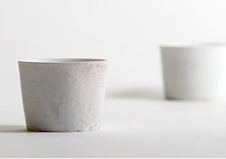 田淵太郎:薪窯白磁 そばちょこ