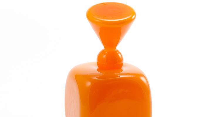 高橋禎彦「花のような1/オレンジ」