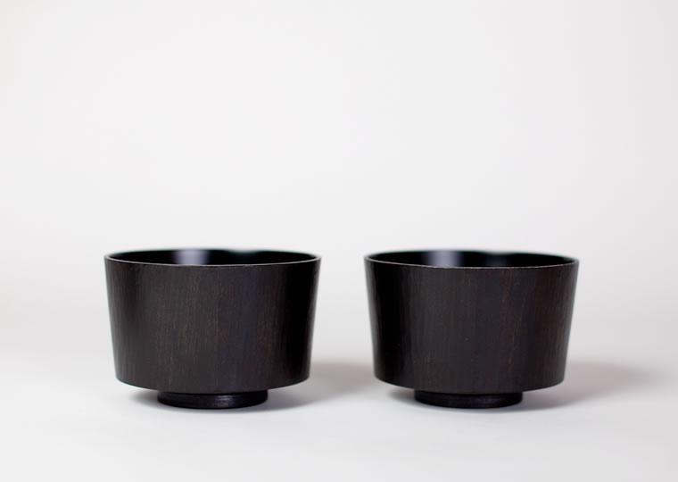 八代淳子「拭漆小鉢」