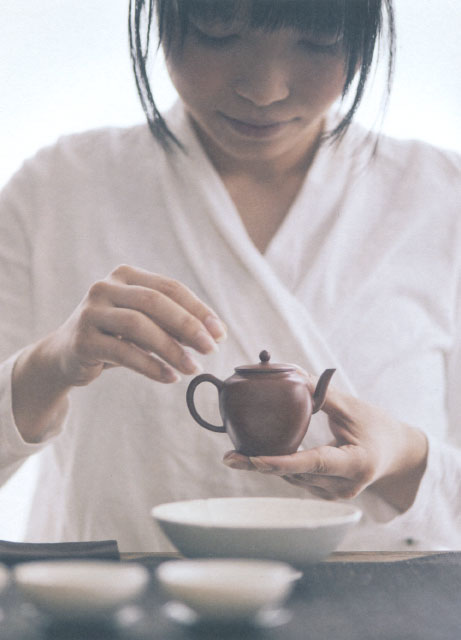 茶人 珮如(ペルー)~台湾茶と道具展~
