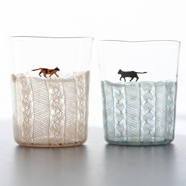 「犬・猫・人間」小西潮ガラス展